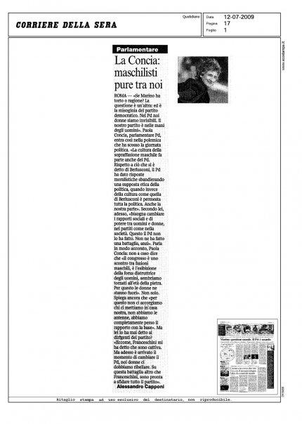 La mia intervista sul Corsera
