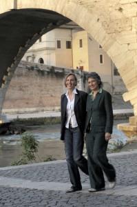 Anna Paola Concia and Ricarda Trautmann